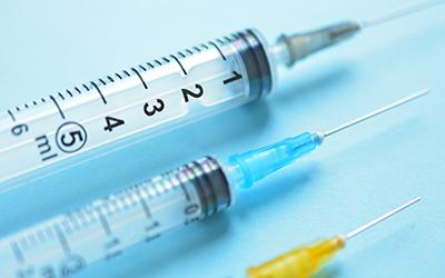 注射器 予防接種のイメージ