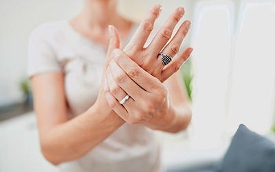 Hand, wrist, arm, thumb, fingers and other injury / arthritis pr